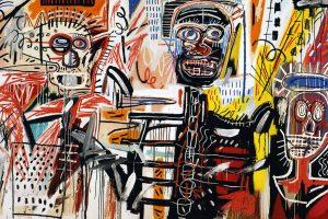basquiat'nın eserleri arasında sanal bir tur