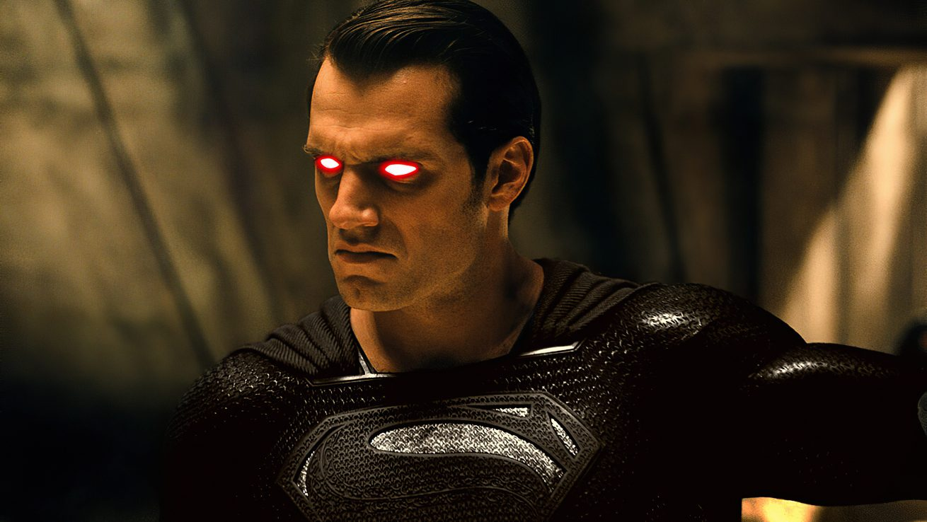 zack snyder's justice league ile siyah kostümlü superman'e merhaba diyoruz