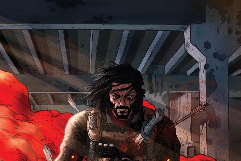 keanu reeves'in çizgi roman dünyasına girdiği brzrkr'dan ilk görseller