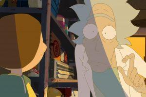 rick and morty'den dokuz dakikalık anime bölüm