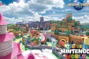 universal studios ve nintendo iş birliğinden doğan super nintendo world'den ilk görüntüler