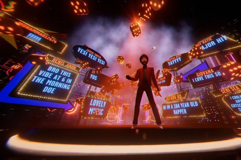 the weeknd tiktok üzerinden 20 dakikalık özel bir performans sergiledi