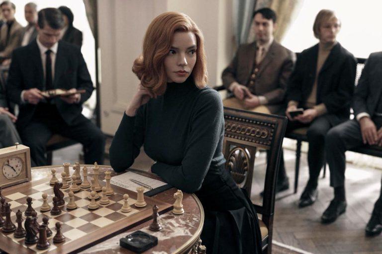 anya taylor – joy'un başrolünde yer aldığı the queen's gambit'ten fragman