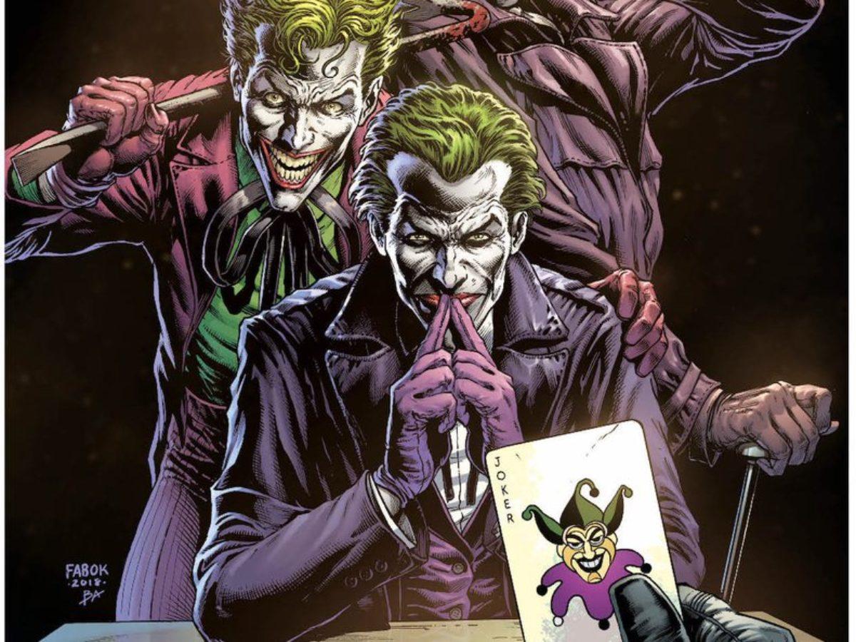 dc evreninin yeni çizgi roman serisi batman: three joker'dan bir tanıtım fragmanı paylaşıldı