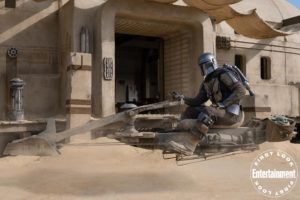 the mandalorian spin-off'u the book of boba fett geliyor
