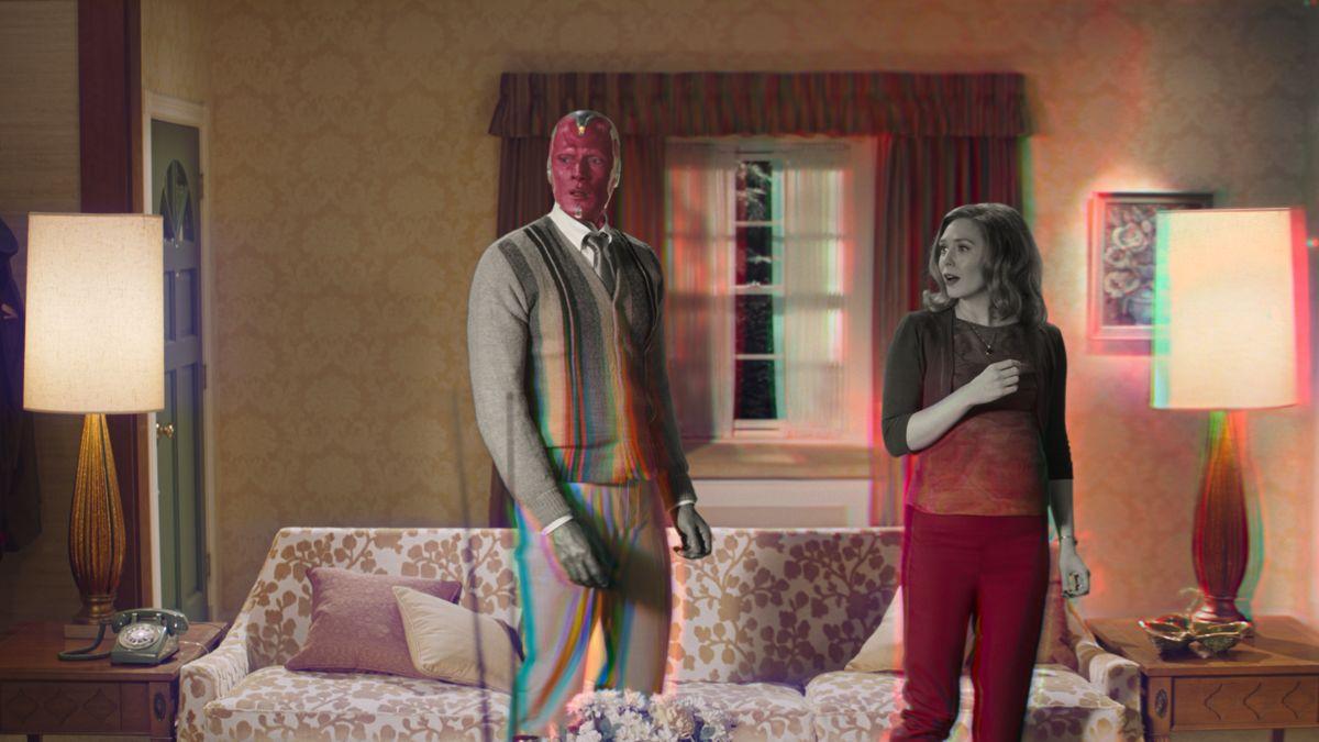 marvel'ın wandavision dizisinden yeni tanıtım fragmanı