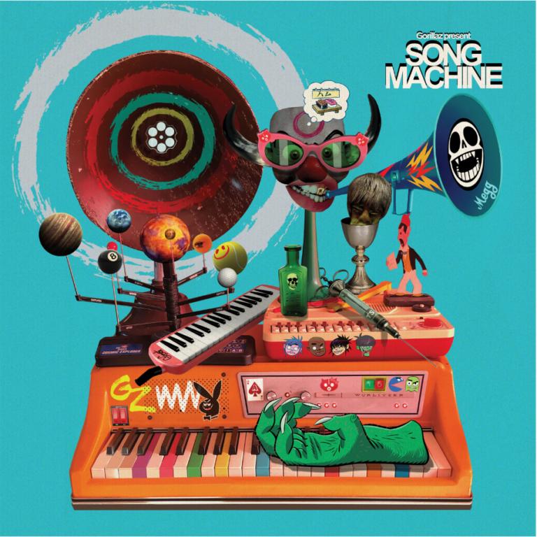 gorillaz'ın bol yıldız isimli yeni albümü yayında