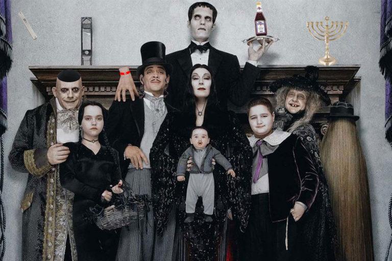 tim burton the addams family'yi televizyona uyarlamaya yakın