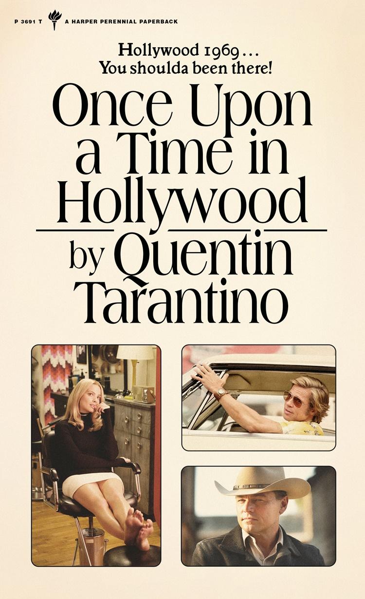 quentin tarantino, once upon a time in hollywood'u bir de roman olarak yayımlayacak