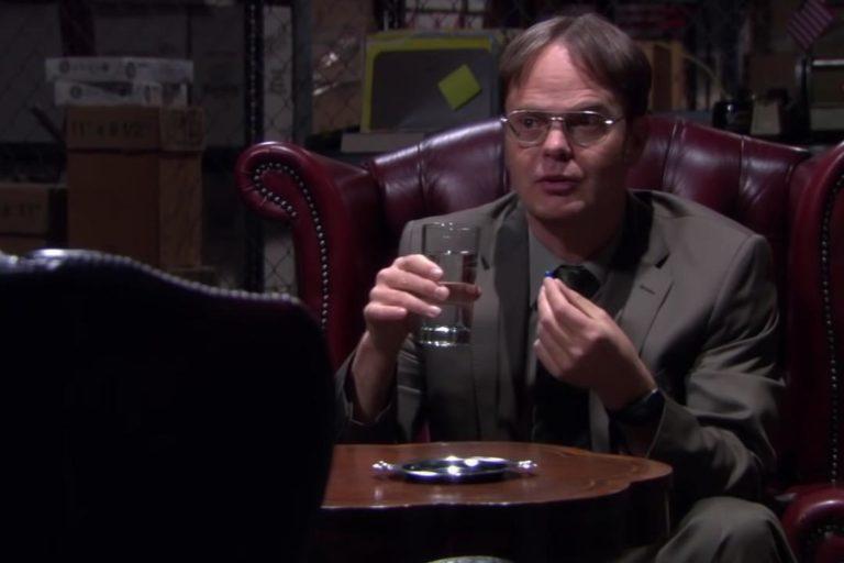 daha önce yayınlanmamış the matrix temalı bir the office sahnesi paylaşıldı