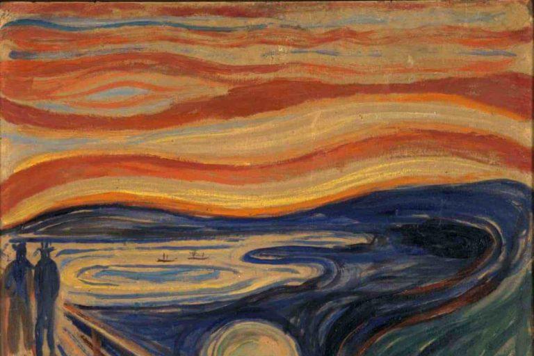"""edvard munch'ın """"the scream"""" tablosundaki sır ortaya çıktı"""