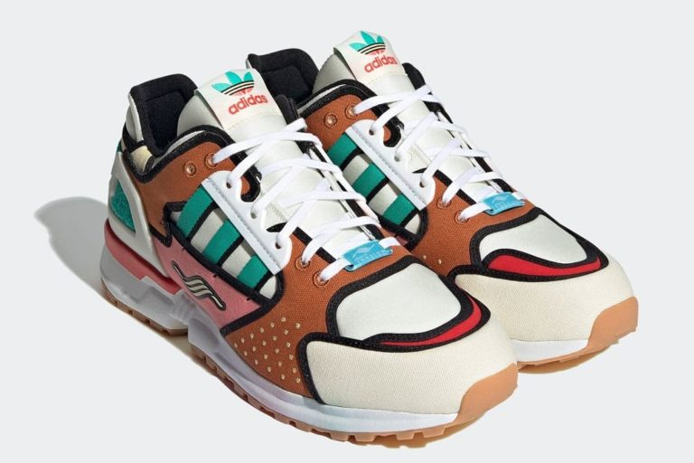 adidas x simpsons sneaker ilhamını krusty burger'den alıyor