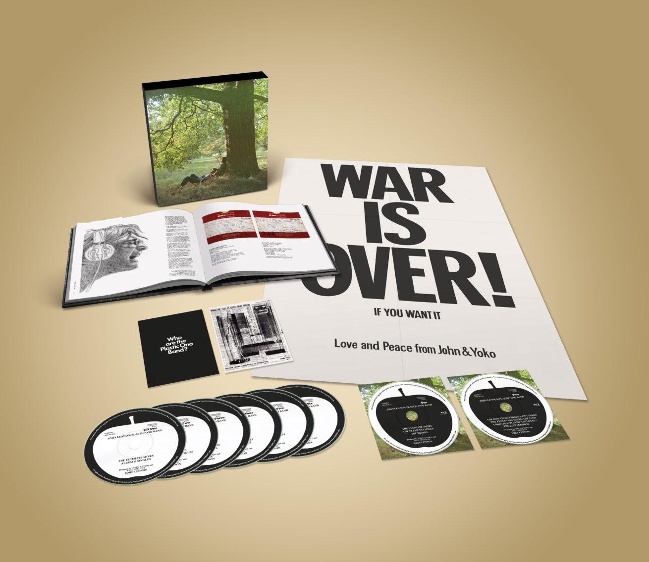 john lennon/plastic ono band'in 160 şarkılık dev box set'i yolda