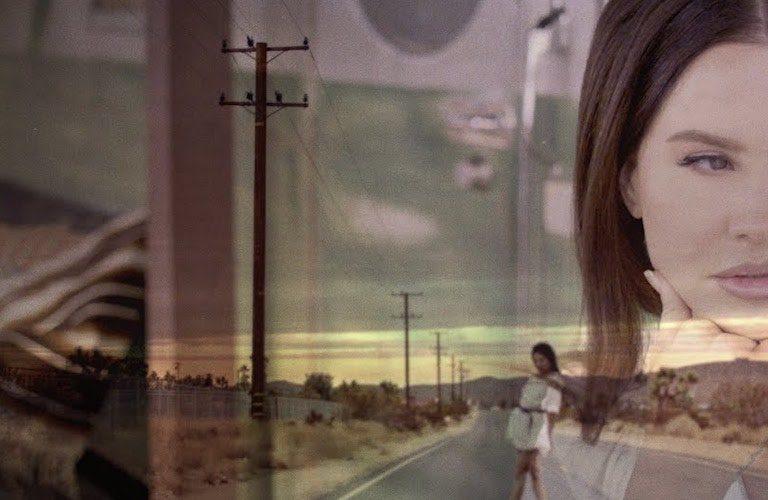 yeni lana del rey albümünden bir video geldi
