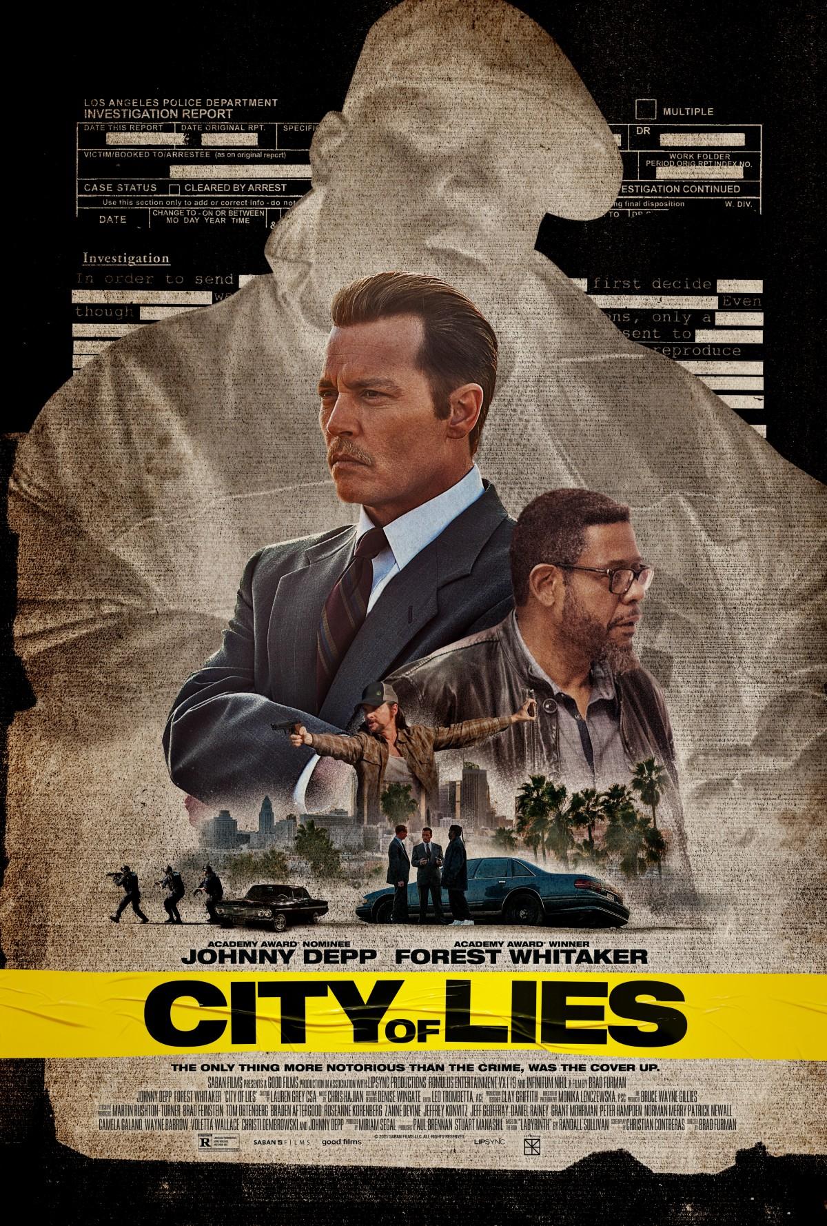 """johnny depp, """"city of lies"""" ile tupac ve biggie cinayetini çözmeye geliyor"""