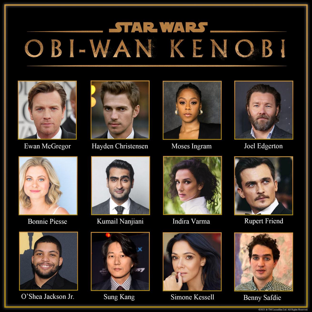 obi-wan kenobi spin-off'unun tam kadrosu belli oldu