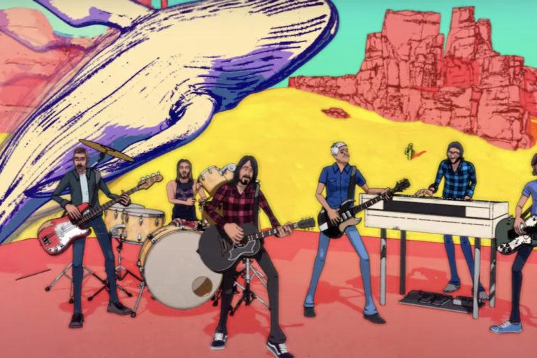 foo fighters 4/20 içn özel bir müzik videosu paylaştı