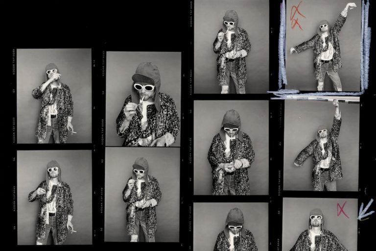 kurt cobain'in son fotoğraf çekimine ait kareler nft olarak satılıyor