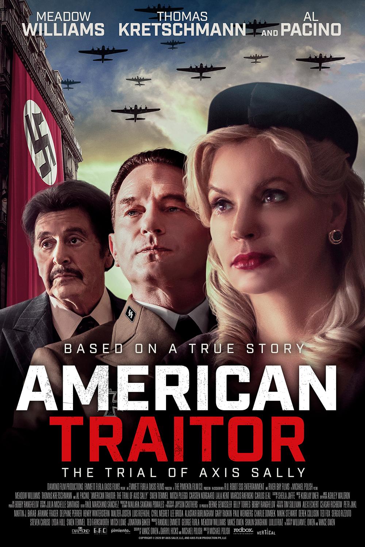 "al pacino'lu ""american traitor: the trial of axis sally""den fragman"