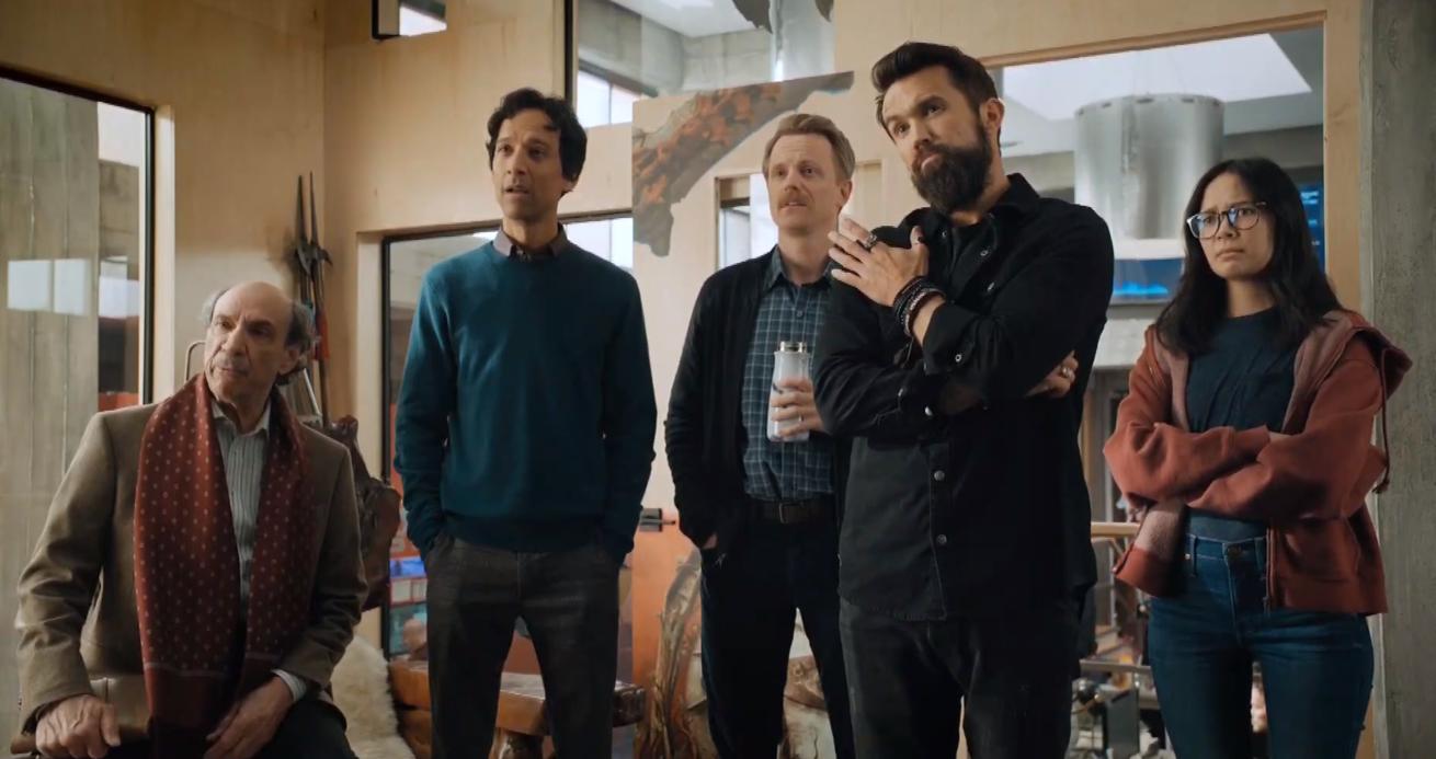 """apple tv+'ın komedi dizisi """"mythic quest""""in ikinci sezon fragmanı yayında"""
