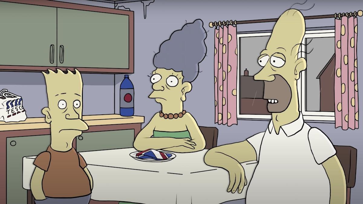 simpson ailesi ingiliz olsaydı dizi nasıl olurdu?