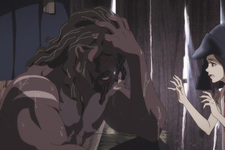 netflix'in yeni samuray animesi yasuke'den fragman