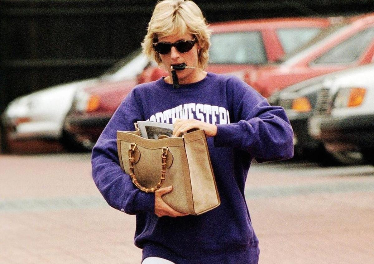 gucci, lady diana'nın ikonik çantasını yeniden yorumladı