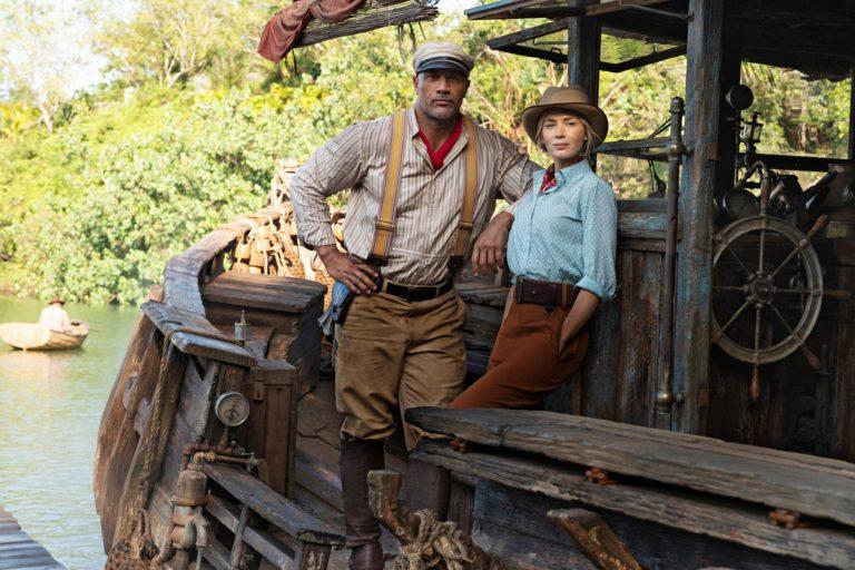 emily blunt ve dwayne johnson'lı jungle cruise'dan fragman