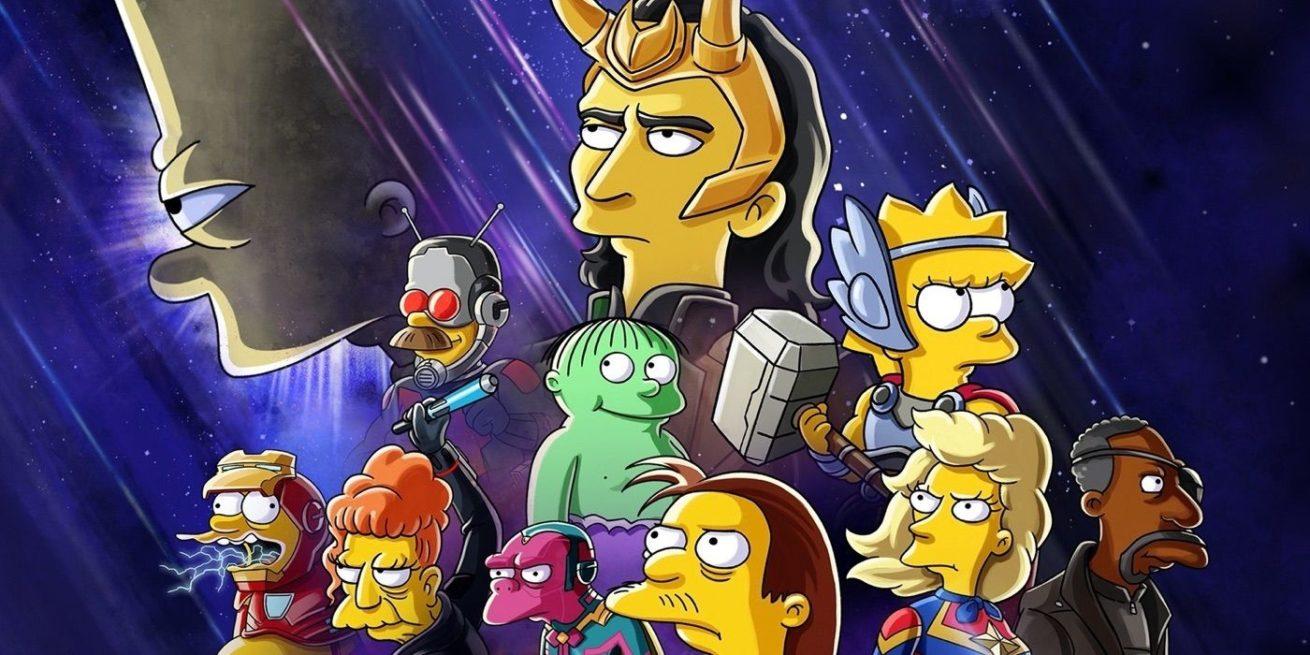 loki ve the simpsons evreni birleşiyor