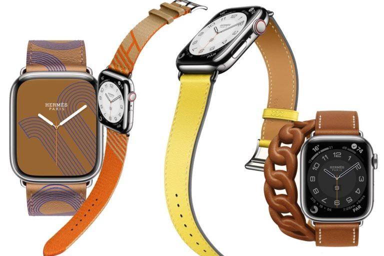 hermés, apple watch series 7'ye özel kayışlarını tanıttı