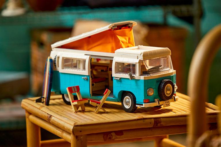volkswagen'ın ikonik karavanı lego ile evimize geliyor