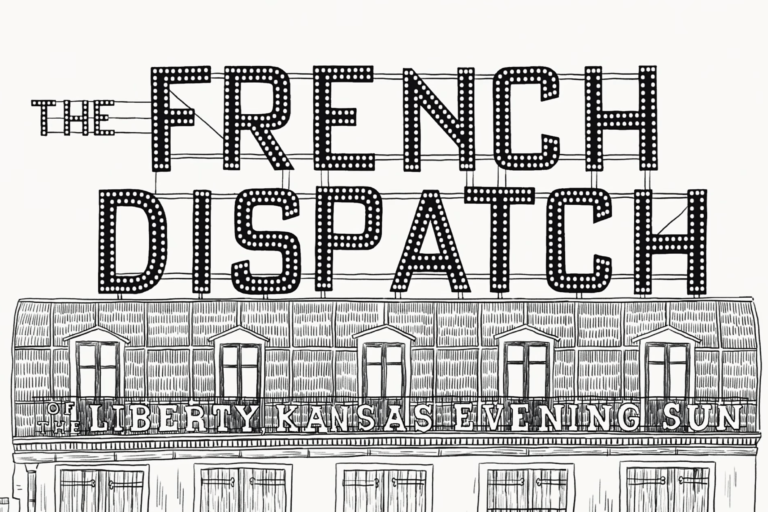 the french dispatch'in soundtrack albümleriyle vizyon öncesi hazırlık