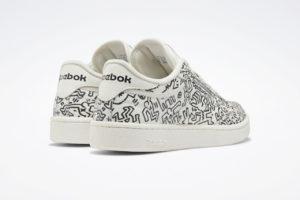 klasik reebok sneaker'lara keith haring dokunuşu